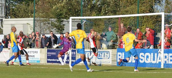 Staines 0 - Woking 1
