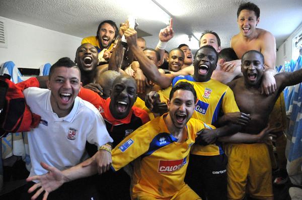 Woking win league
