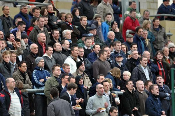 Crowd at Lewes