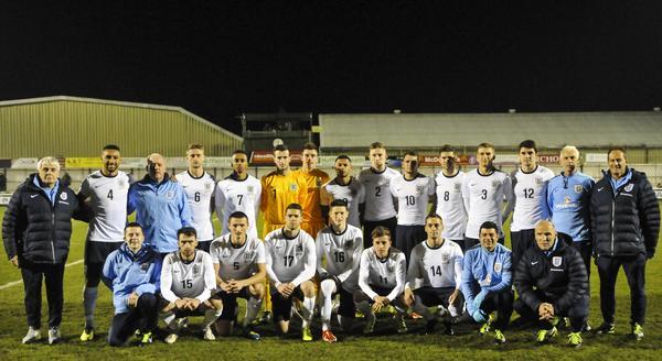 England C v Czech U21