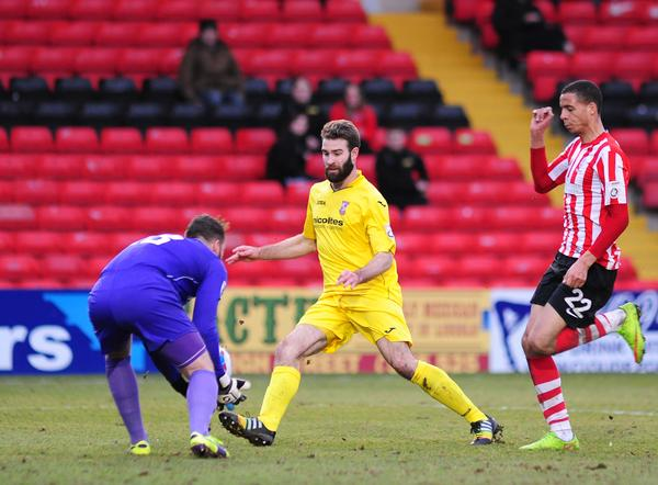 Lincoln City 0 - Woking 2