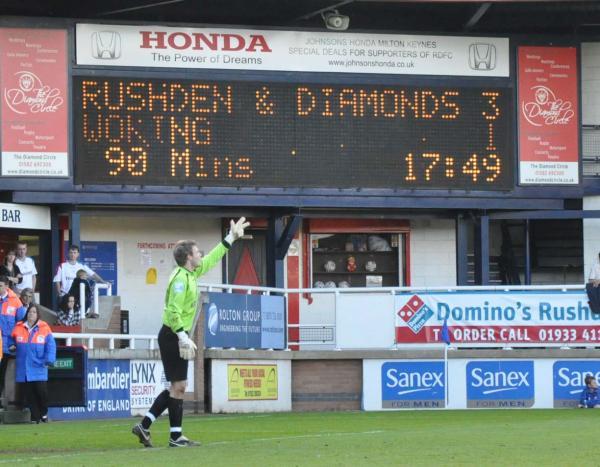 Rushden 3 - 1 Woking