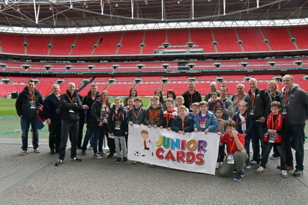 Junior Cards Wembley Stadium Tour