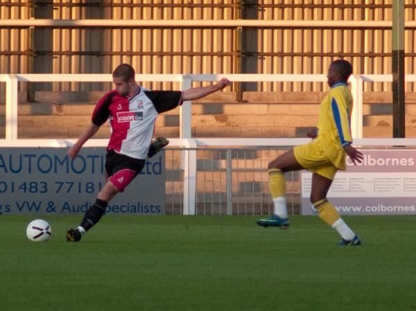 Woking 3 - 2 Molesey Reserves
