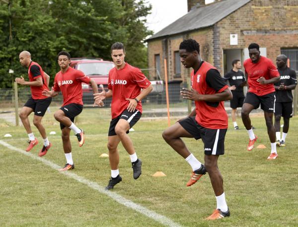 Training 4 July