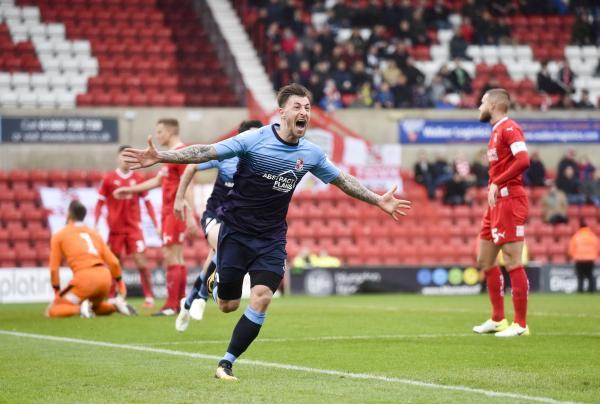 Swindon 0 - Woking 1 Match