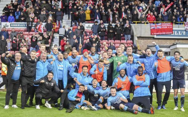 Swindon - Post Match and Crowd