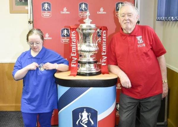 Emirates FA Cup at WFC