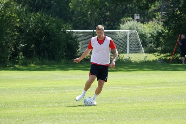 First Pre-Season Training Session