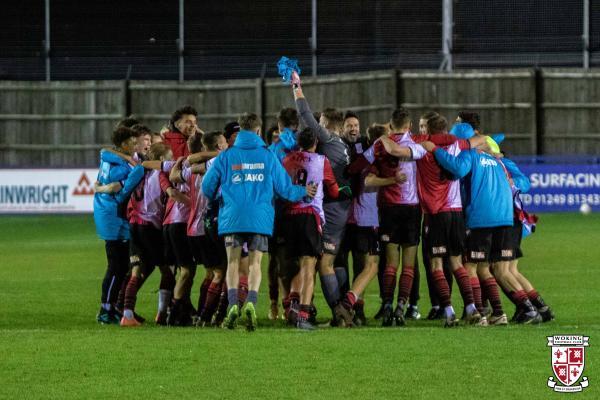 Chippenham U18 0 - Woking U18 7