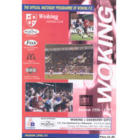 Old matchday programmes