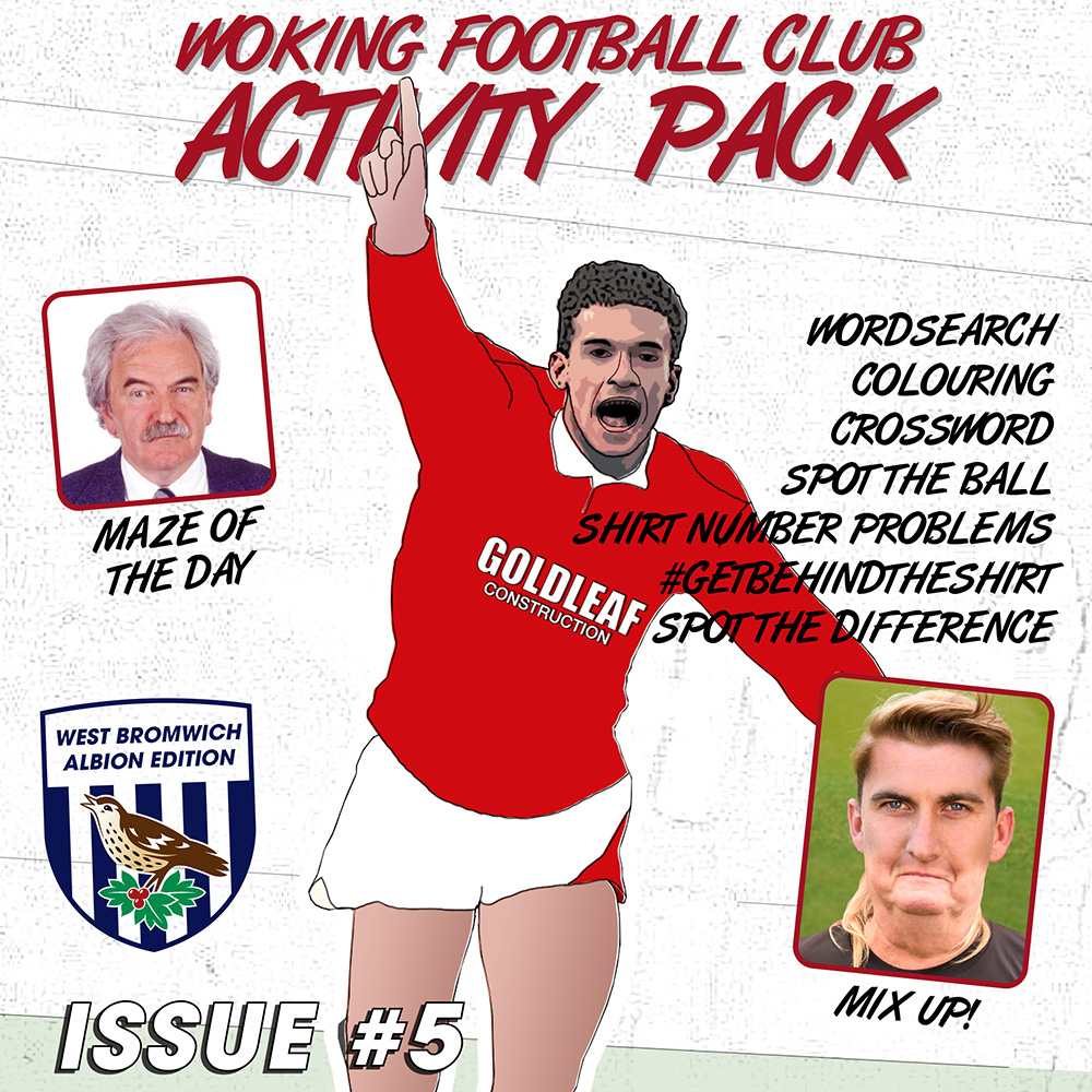 Woking Football Club Activity Pack - Issue 5