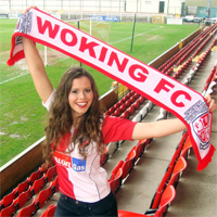 Cards' Fan Ellie has a Miss England Dream