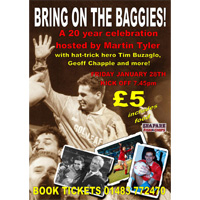 Win Baggies and beer tickets!