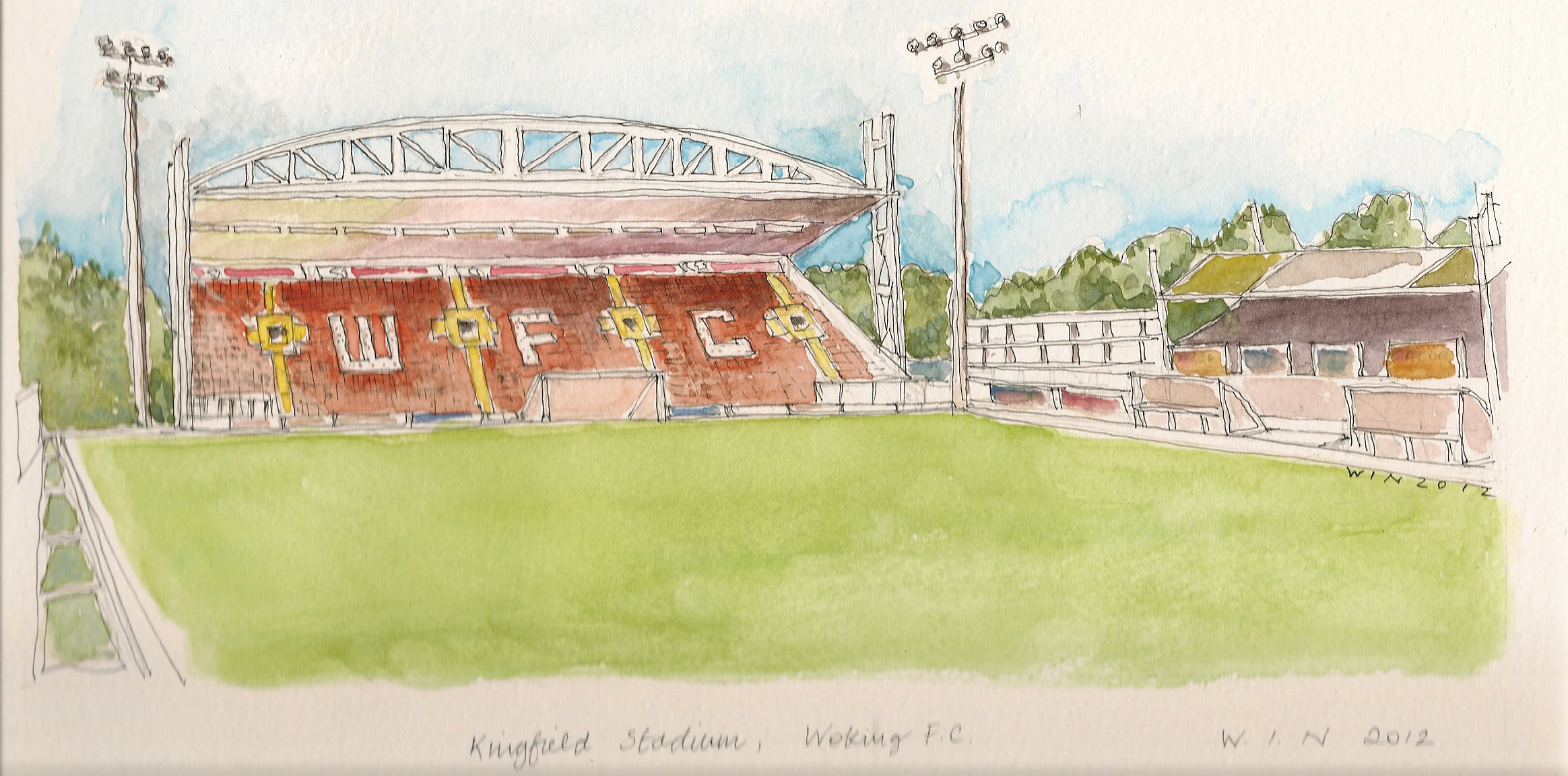 Kingfield Watercolour Offer