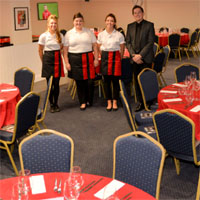 Match Day Hospitality in the Geoff Chapple Lounge