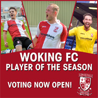 Woking FC Player of the Season 2014/15