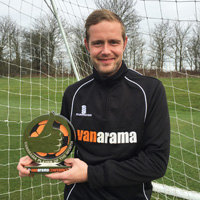 Scott wins Vanarama Conference Player of the Month!