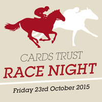 Cards Trust Race Night on Friday 23rd October