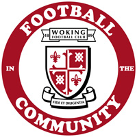 Woking Football in the Community pick up an award