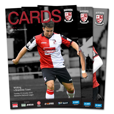 Make sure you check out Saturday's Matchday Programme!