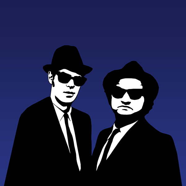 The Blues Brothers at Woking Football Club