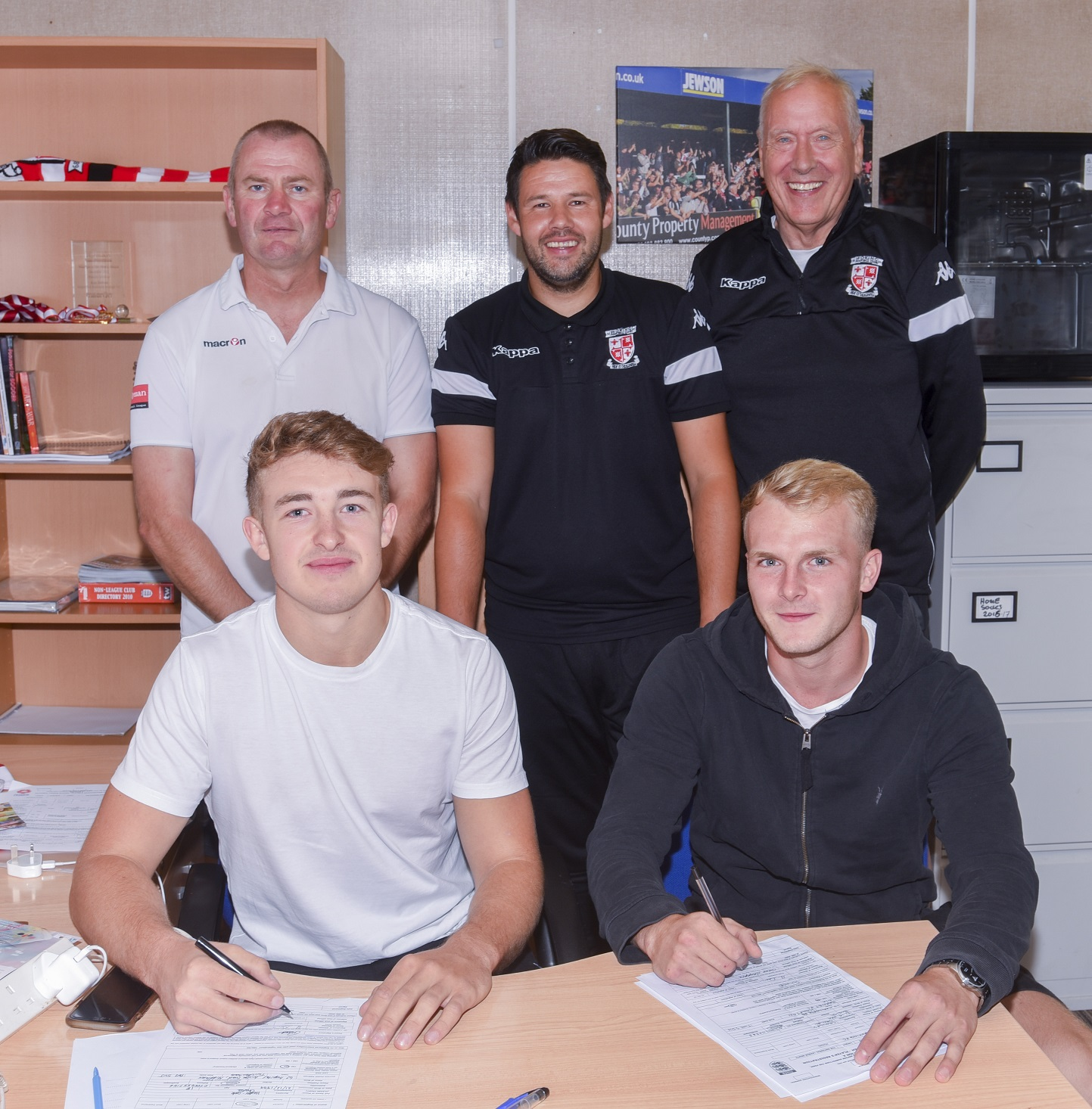 Charlie Hester-Cook and Danny Choules sign for Woking