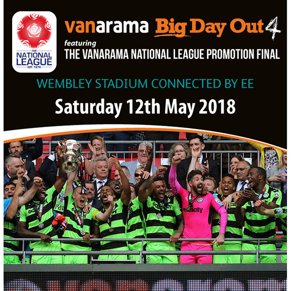 Vanarama Big Day Out 4 - Early Bird Tickets