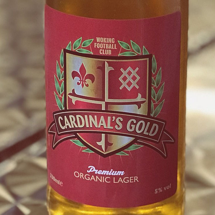 Cardinal's Gold goes down a treat