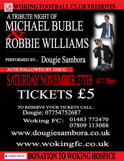 Michael Buble and Robbie Williams Poster