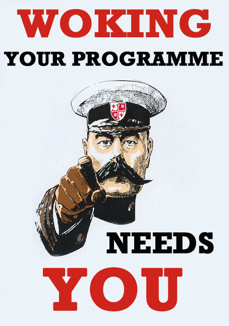 Your Programme Needs You