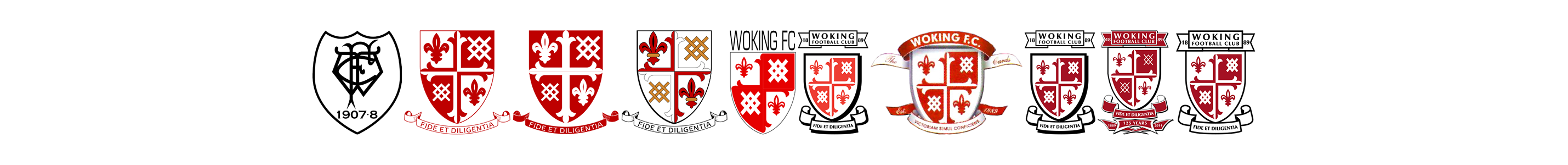 Woking Football Club Badges