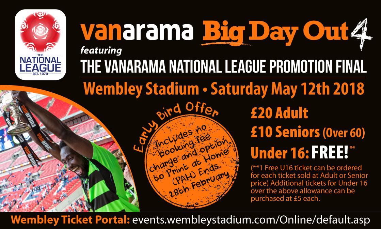 Woking Football Club | News | Vanarama Big Day Out 4 - Early