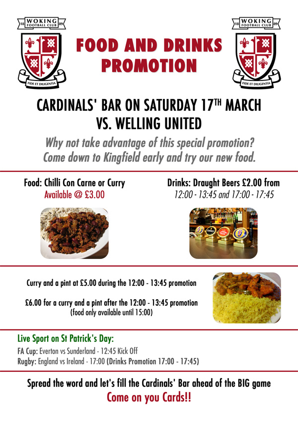 Food & Drinks Promotions on St Patrick's Day